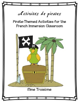 French Pirate-Themed Activities (great for Halloween!)