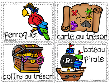 French Pirates Write the Room: Les Pirates