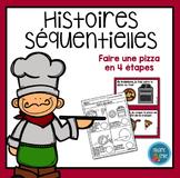 French Pizza Sequencing activity/ Histoires séquentielles (Faire une pizza)