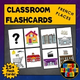 French Places Flashcards, Locations, Buildings, Les endroits Flashcards