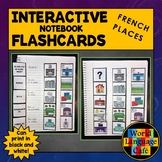 French Places Flashcards, Locations, Buildings Interactive