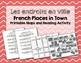 French Places in Town / Endroits en ville: BUNDLE