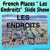 French Places in a City- Les Endroits En Ville & La Géographie Française