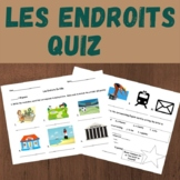 French Places in a City Quiz (Les Endroits)
