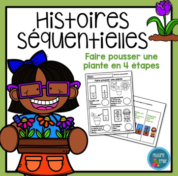 French Plant Sequencing activity/ Histoires séquentielles (La plante)