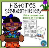 French Plant Sequencing activity/ Histoires séquentielles (La plante)