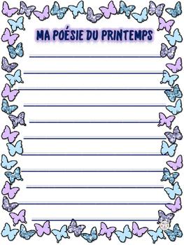 French: Poésie du Printemps
