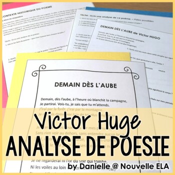 French Poetry Analysis - Victor Hugo