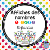 French Polka-Dot Number Posters - Affiches des nombres