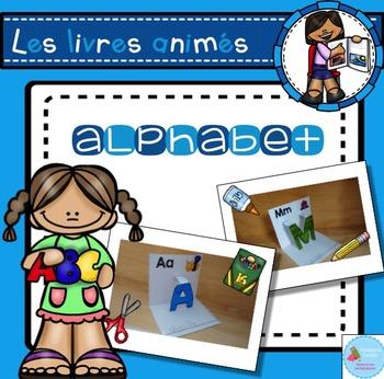 French Pop-Up Alphabet Book/ Livre animé de l'alphabet