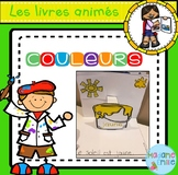 French Pop-Up Colors Book/ Livre animé des couleurs