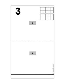 French Pop-Up Numbers Book/ Livre animé des nombres