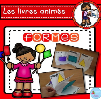 French Pop-Up Shapes Book/ Livre animé des formes