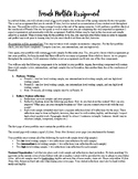 French Portfolio Assignment