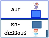 French Positional Word Cards