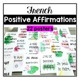 French Positive Affirmations Growth Mindset Posters (affir