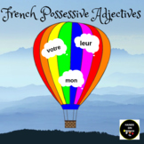 French Possessive Adjectives Exercises Adjectifs Possessifs