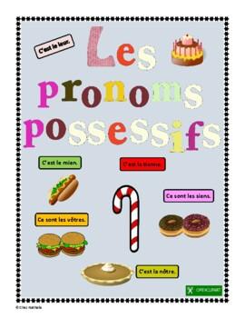 French Possessive Pronouns