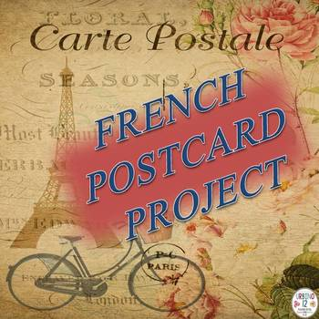 French: Postcard Project