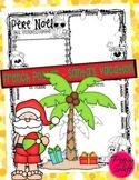 French Poster - Le Père Noël en vacances!