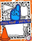French Poster - Les sports