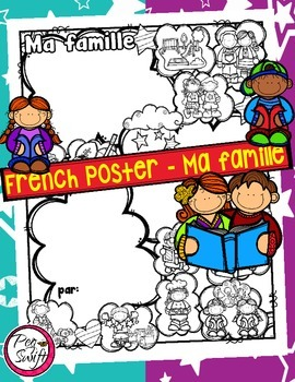 French Poster ~ Ma famille