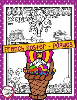 French Poster ~ Pâques