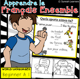 French Poster & Word Sheets- Quels sports aimes-tu?