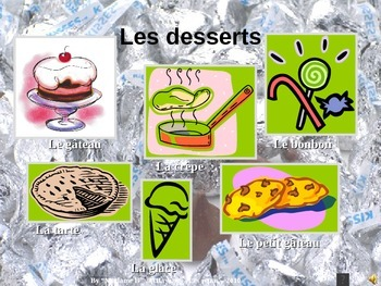 French PowerPoint: Food + other products previews