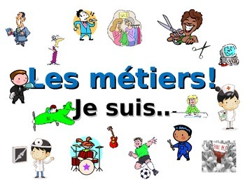 French Teaching Resources. PowerPoint: Jobs/ Professions.