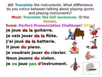 French Teaching Resources. PowerPoint: Musical Instruments
