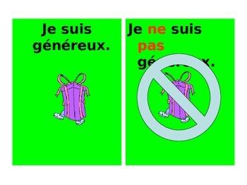 French Teaching Resources. PowerPoint: Negatives + present tense: ne + pas