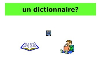 French Teaching Resources. PowerPoint: On Exchange/ Holiday: Tu peux me prêter?