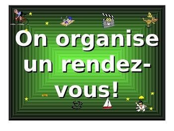 French Teaching Resources. PowerPoint: Organising going ou