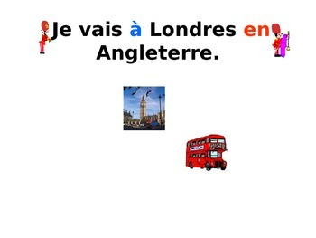 French Teaching Resources: PowerPoint Presentation: Cities & Countries.