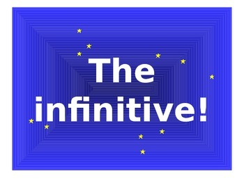 French Teaching Resources. PowerPoint Presentation: Infinitives