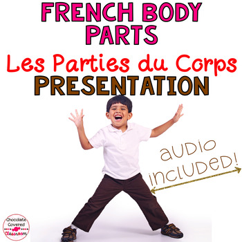 French PowerPoint Presentation – Les Parties du Corps (Bod