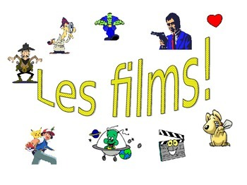 French Teaching Resources. PowerPoint Presentation: Les films