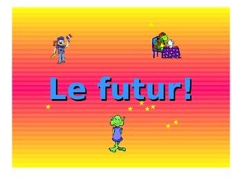 French Teaching Resources. PowerPoint Presentation: Near Future Tense