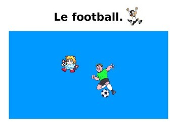 French Teaching Resources. PowerPoint Presentation: Sports