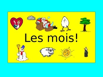 French Teaching Resources. PowerPoint Presentation: The Months