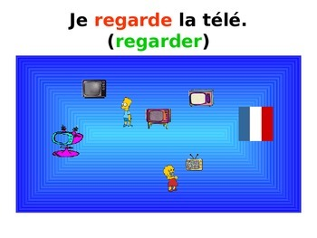 French Teaching Resources. PowerPoint: Weekend Activities in the Present Tense.