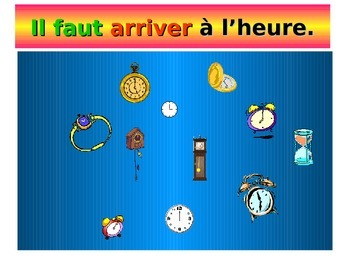 French Teaching Resources. PowerPoint: School Rules