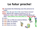 French Teaching Resources. PowerPoint: The Near Future