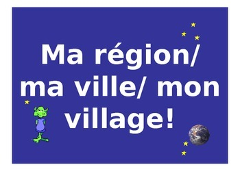 French Teaching Resources. PowerPoint: Types of Towns & Regions.