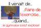 French PowerPoint introduction to Venir de (Passé Récent)