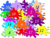 French Powerpoint  Interactive Number Activity - Numbers 1-100