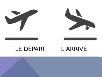 French - Powerpoint - Plane