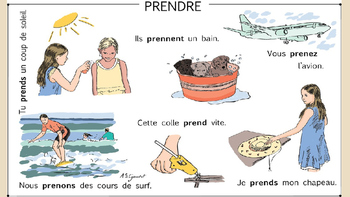 French - Prendre - To Take