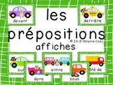 French Preposition Posters